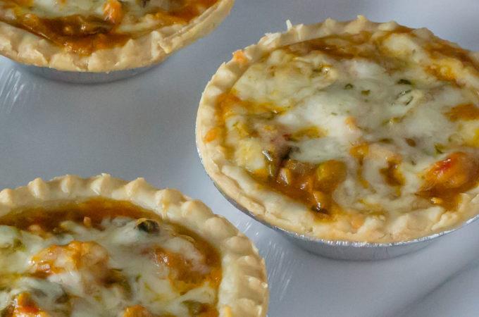 Crawfish Etouffee Pies