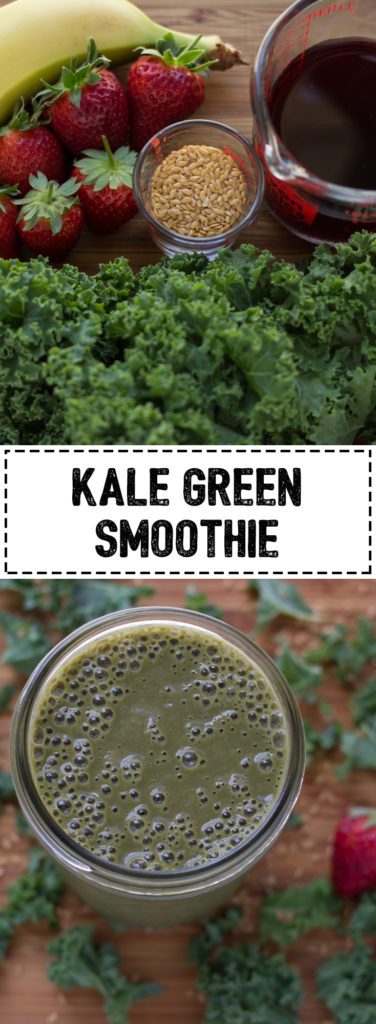 Start your day off right with this nutrition packed green smoothie