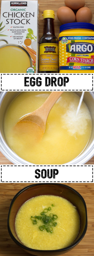 Egg Drop Soup that's quicker and easier than ordering takeout!