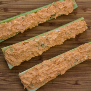 Buffalo Chicken Celery Sticks