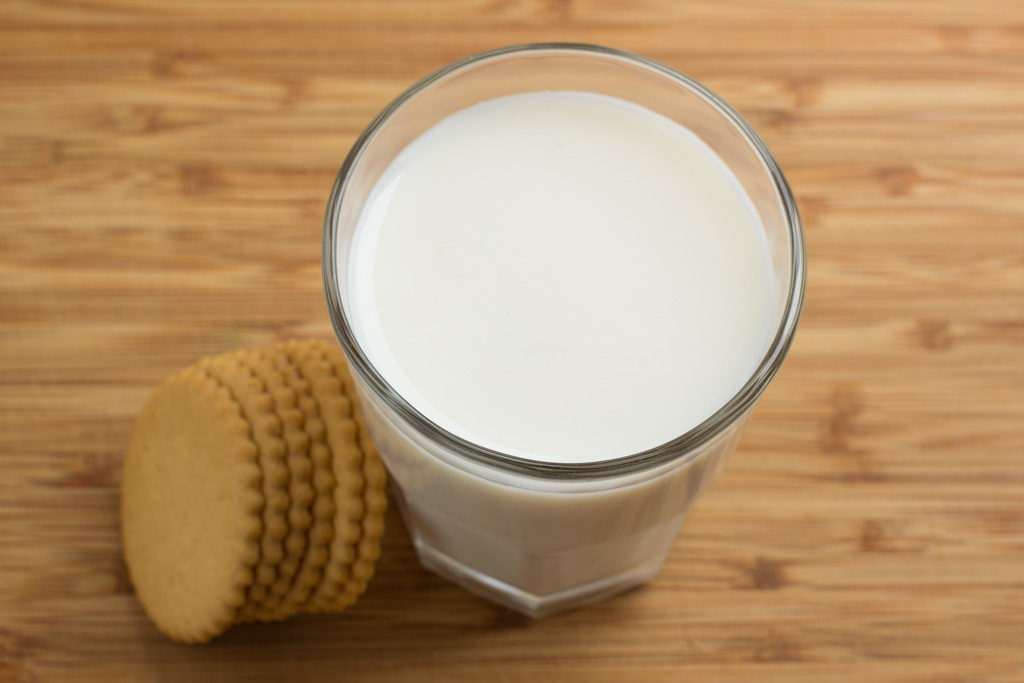 Homemade Vanilla Milk