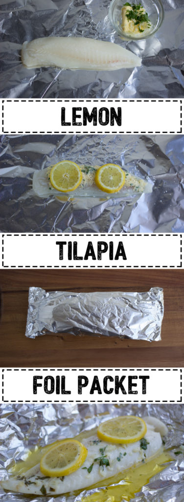 A quick and easy way to cook tilapia without a dish to clean!