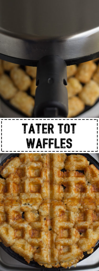 Tater Tots for breakfast!