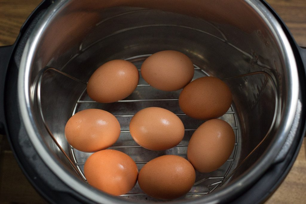 Instant Pot Hard Boiled Eggs.
